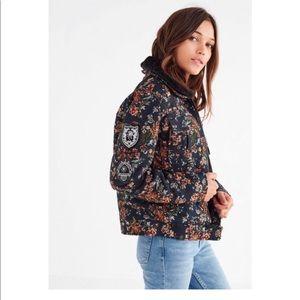 BLANKNYC • Jacket • Floral • Navy • Large • NWT